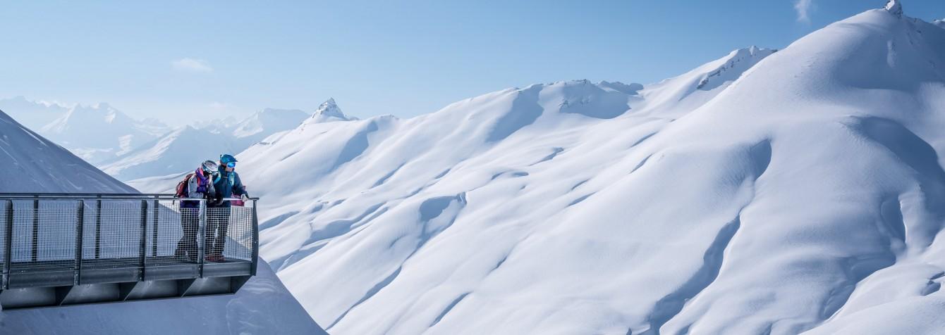 vue panoramique passerelle la Rosière