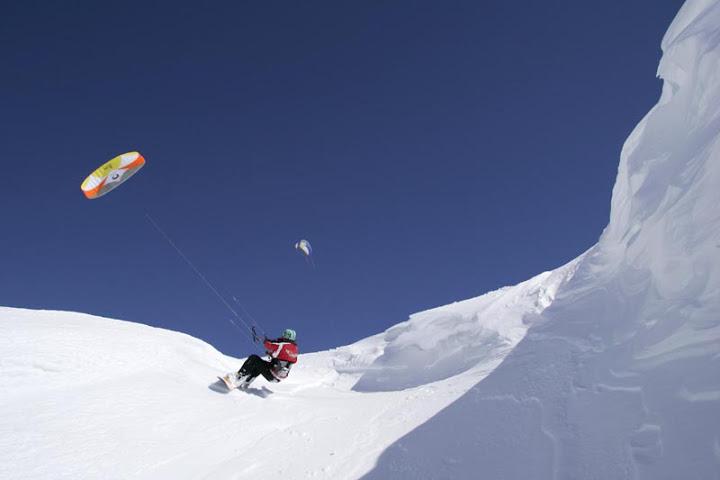 La Rosière - Snowkite - Flymountainsnowkite